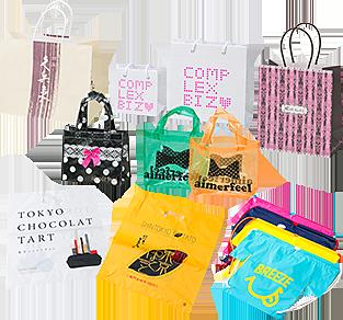 5e7b8f44ec01 ショッピングバッグ・紙袋はロゴマークやキャラクターと同じようにブランドやショップのイメージを左右する重要な販促ツールです。当社は素材の選定から仕様、  ...